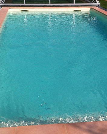 Construction d'une piscine en béton